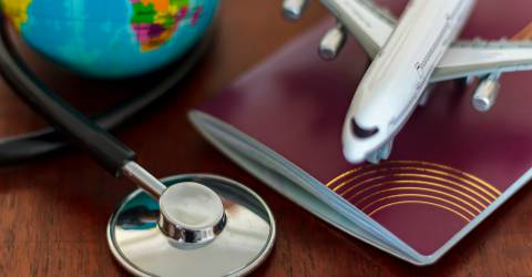 vakantie reis paspoort gezondheid Corona