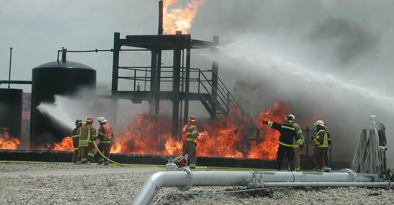 Milieuschade door brand
